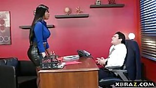 Headhunter is a very persuasive lalin white wench milf wit...