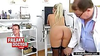 Gyno-chair exam of miniature lalin amateur Married slut ferrara gomez