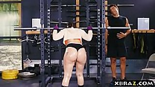 Big arse gym babe mandy muse anal screwed after s...