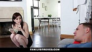 Cute step sis seduces bro with lapdance -hd on:...