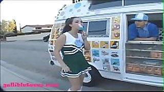 Gullibleteens.com icecream truck cute 18 cheerl...