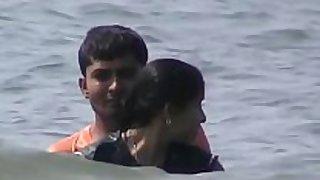 Goa bath romance