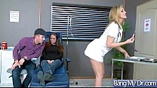 Sex adventures between doctor and sexually excited patient...