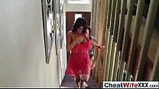 Real sex story filmed with hot hot cheating ho...