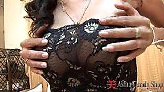 Thai lustful white non-professional girl minta oral job fun