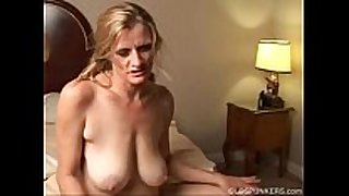 Slutty older trailer trash can not live out of to fuck -- vi...