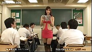 Horny teacher tempt student 01