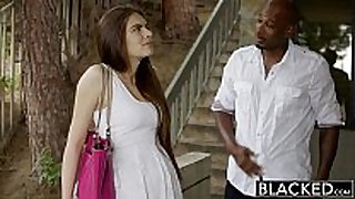 Blacked first interracial for nice-looking gf zoe wood