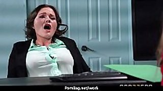 Sexy wild milf can not live out of rough sex at work 7