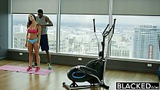 Blacked fitness babe kendra craving can not live out of massive bla...