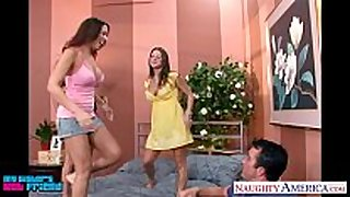 Hot brunettes mariah milano, rachel roxxx and r...