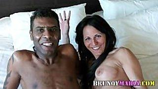 Raquel abril con un chico dark guys de bruno y mari...