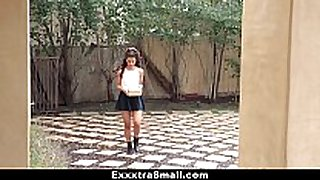 Exxxtrasmall - sexy tiny latin babe fucks neighbor