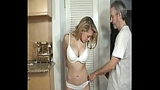 Door to door dilettante BBC doxy fastened and gagged part 1