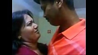 Tamil couple giving a kiss boob sucking -