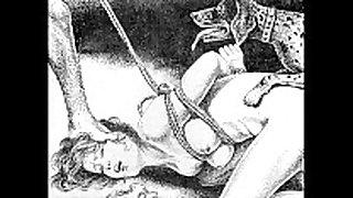 Slaves to rope japanese art extraordinary slavery ext...