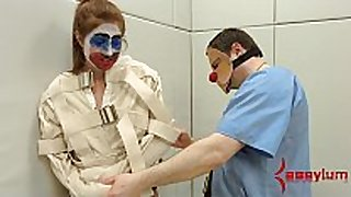 Rose red turned into anal clown car and abused