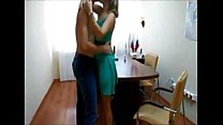 Couple office fuck on hidden cam