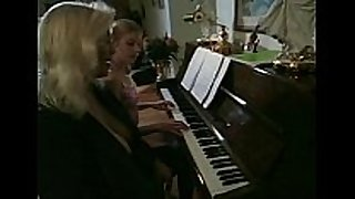 Older piano teacher seduces youthful legal age teenager student