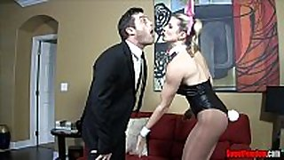 Whore BBC slut - cuck hubby cory pursue ballbusting