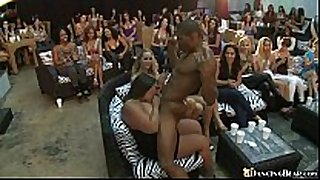 Sexual blow job with strippers
