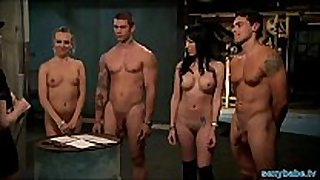 Playboy honeys drilled hard in jail cell