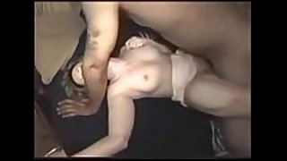 Wife drilled by dark stud