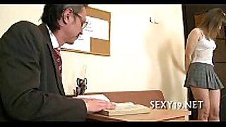 Hot riding with mature teacher
