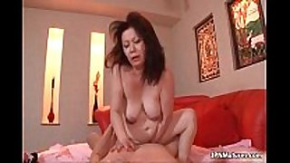 Thick aged non-professional amateur hotwife can not live out of getting