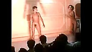 Indian stage stripped hardcore sex dance