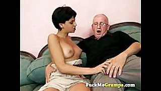 The old chap can teach her