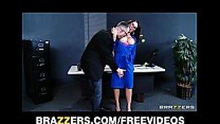 Capri cavanni sneaks out of office party & unfathomable...