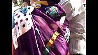 Marwadi aunt haunches