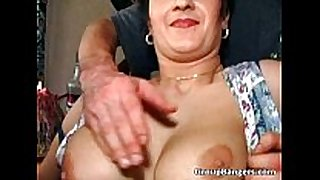 Old juicy bawdy cleft enjoys in great mature