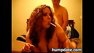 Smoking corpulent milf receives doggystyled