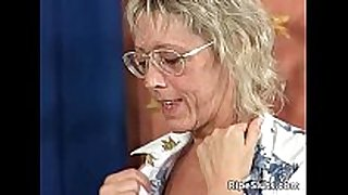 Sexy blond older teacher is sexy as this honey