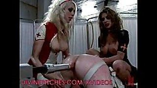 Femdom nurses wish dick