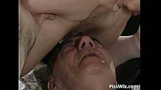Mature pair love immodest sex and smack