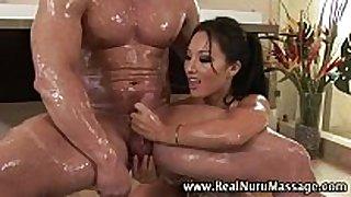 Wet oriental fetish masseuse sweetheart