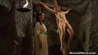 Lesbian serf torment video scene - serf tears of...