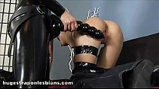 Role playing lesbos undress and fuck with a h...