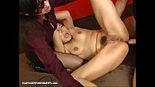 Japanese thraldom sex - extraordinary sadomasochism castigation ...