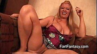 Bbw blond daejha milan farting