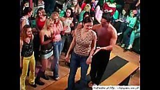 Sexy hotties dancing on party