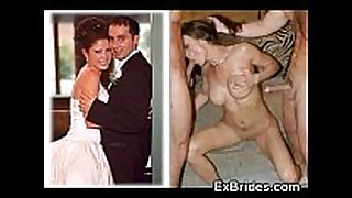 Real brides engulfing!