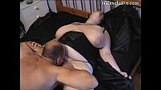 My hubby almost any valuable allies eating my cum-hole