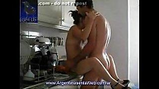 Cojiendo en la cocina / having sex in the kitchen
