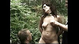Milf thrall overspread in candlewax receives it spanked...