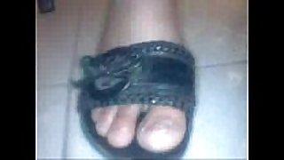 Feet woman maroc