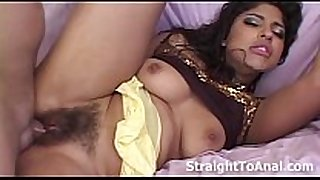Latina laurie vargas unshaved love tunnel anal fuck
